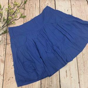 Edme & Esyllte Royal Blue Spring Skirt Size 10